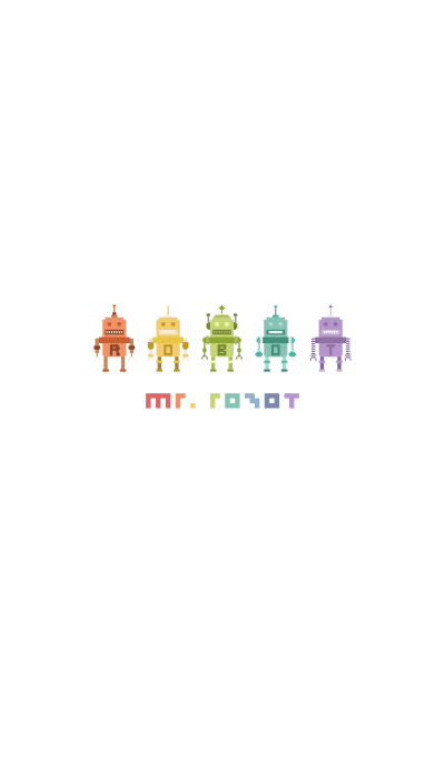 MR. ROBOT (COLORFUL)