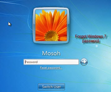 how to find modem password on windows 7