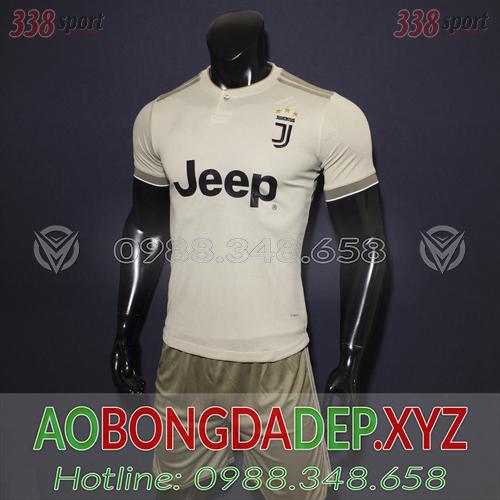 Áo Juventus 2019 Sân Khách 2 Màu Xám Đẹp