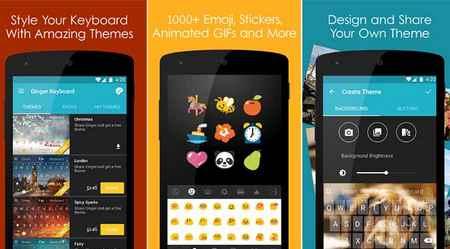 Aplikasi Keyboard Android Ringan