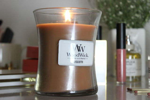 Woodwick Biscotti Candle