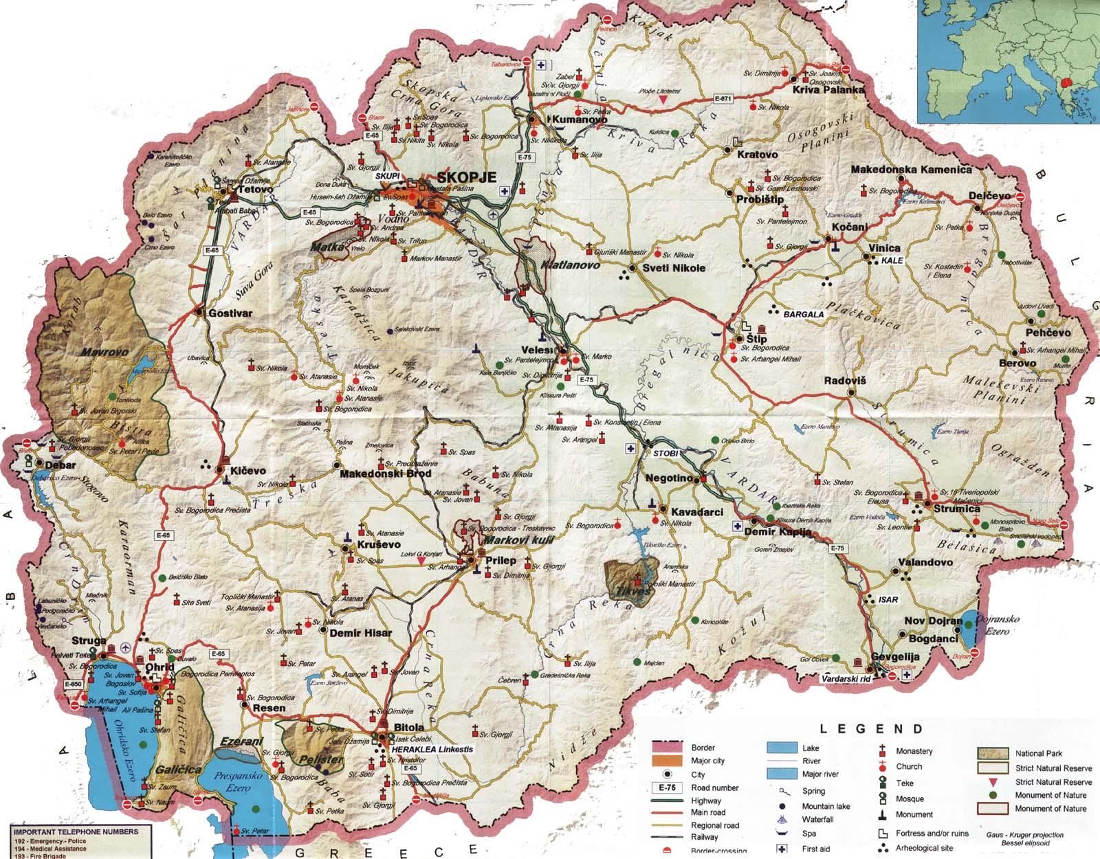 Macedônia | Aspectos Gerais da Macedônia