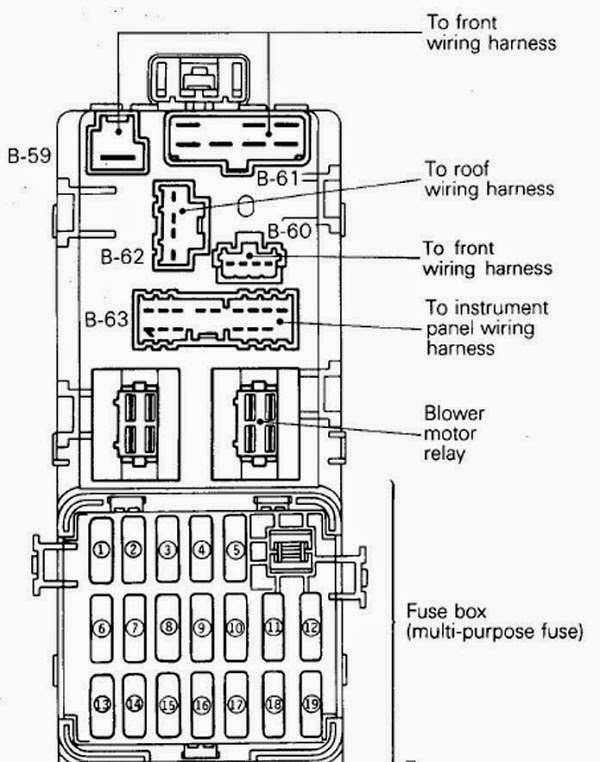 diagram kotak fius kereta wira jeruk antu rh jerukan2 blogspot com Ford Focus Fuse Box Diagram Ford Mustang Fuse Box Diagram