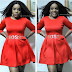 Empress Njamah Stuns In Red Dress As She Attends Her Friend's Bridal Shower Party