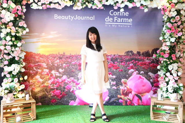 Corine De Farme Makeup Remover Event