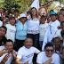 Cecilia Patrón arranca su campaña cerca de los ciudadanos