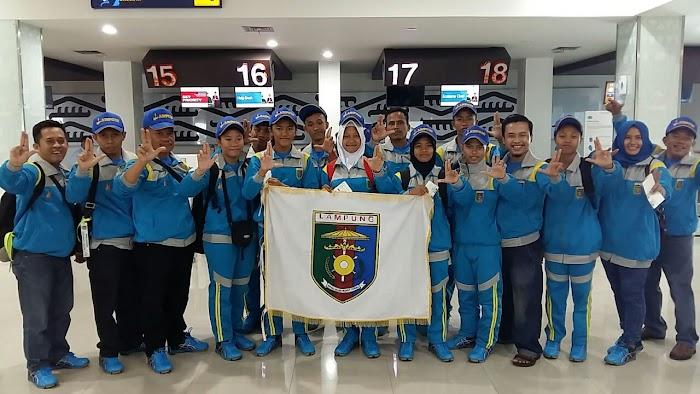 Kontingen Olimpiade O2SN Lampung Raih 2 Medali Emas, 4 perak, dan 7 Perunggu
