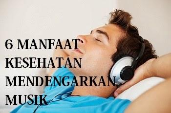6 Manfaat Kesehatan Mendengarkan Musik