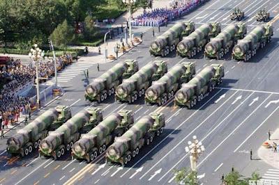China Uji Coba Rudal Balistik Terbaru Antar Benua Dongfeng-41 (DF-41)