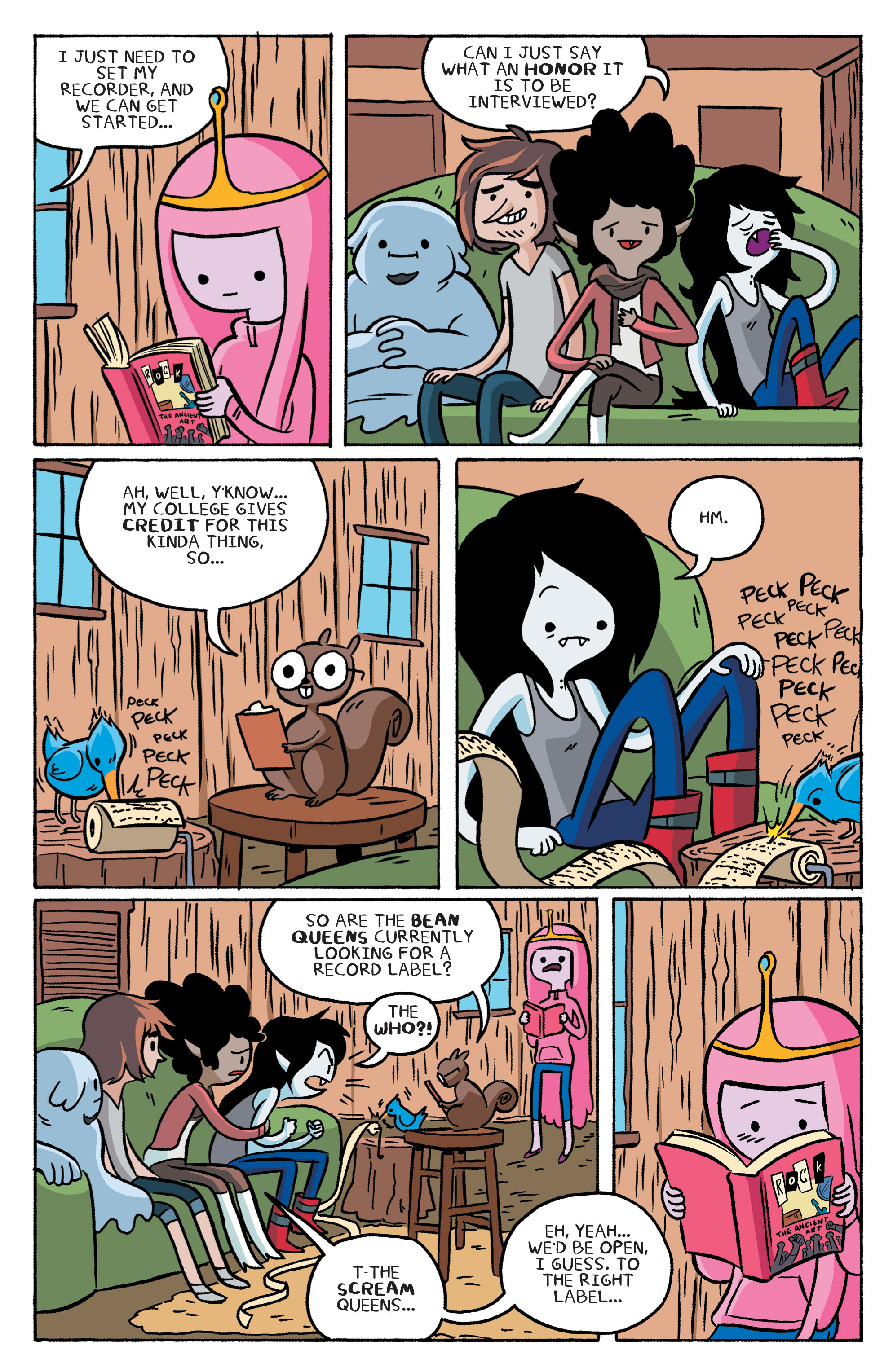Read online Adventure Time: Marceline and the Scream Queens comic -  Issue #2 - 9