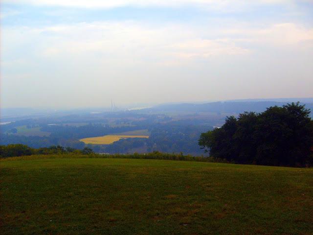 View From Veraestau Historic Site - Aurora, Indiana