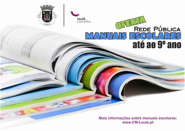 Alunos do 1.º ao 9.º ano da Rede Pública de Loulé recebem manuais escolares gratuitos