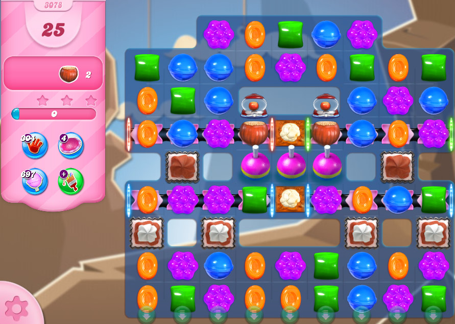 Candy Crush Saga level 3078