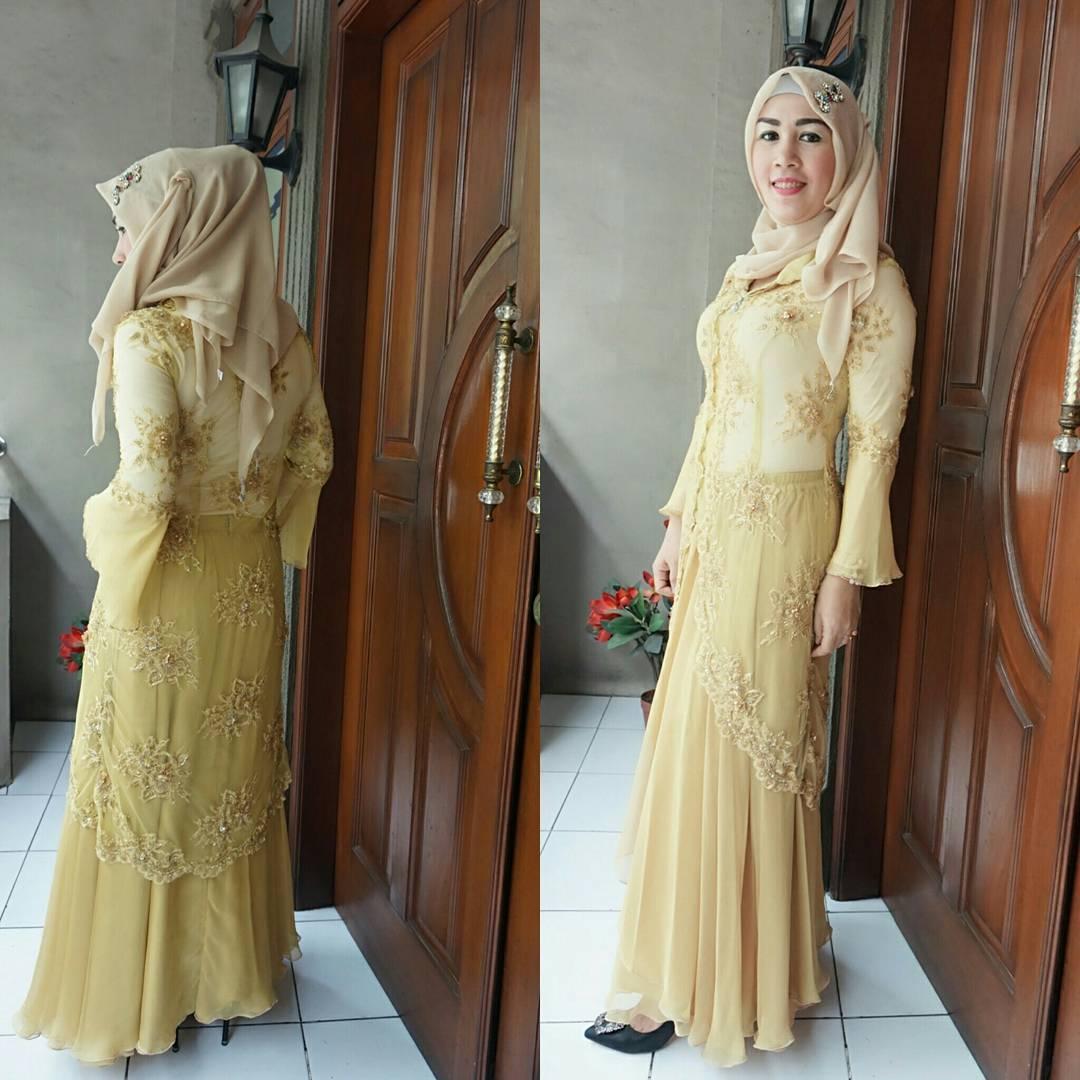 Baju Kebaya Pesta Untuk Wanita Berjilbab Busana Muslim