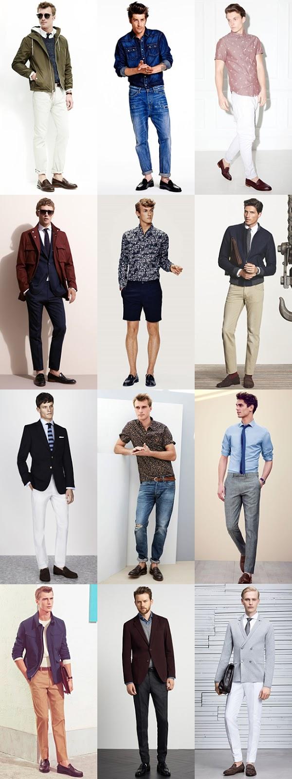 Giầy nam da lộn mặc quần gì?