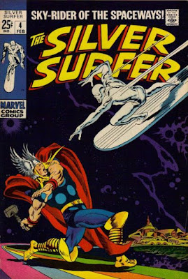 Silver Surfer #4, Thor