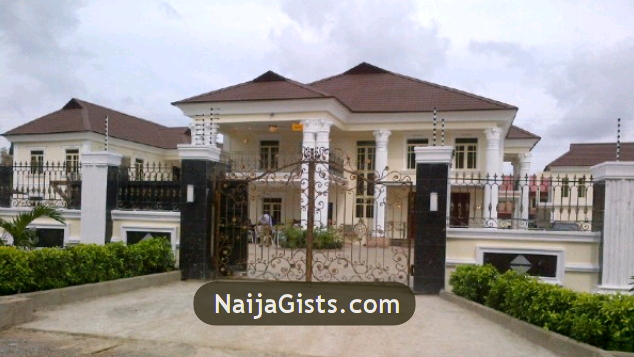 Wasiu ayinde k1 s new mansion house in ijebu ode photos for Mansions in nigeria for sale