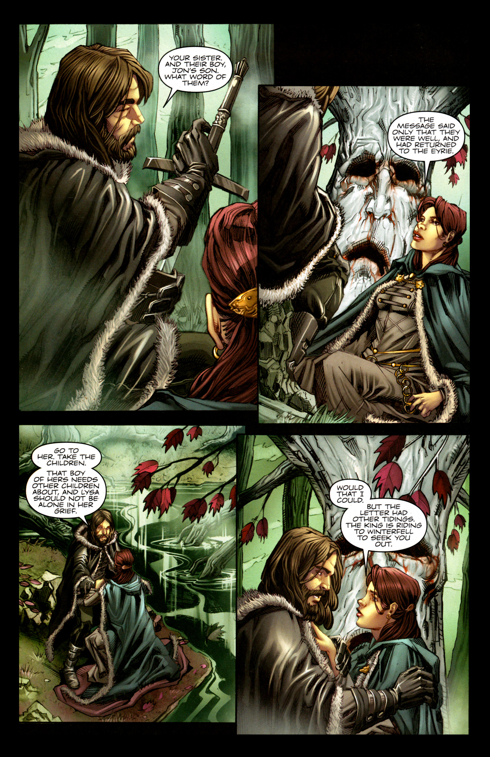 Read online A Game Of Thrones comic -  Issue #1 - 22