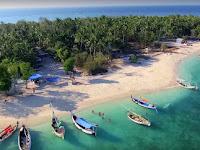 Keindahan Pulau Gili labak sumenep yang memikat Hati