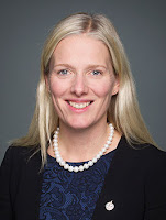 Catherine McKenna was appointed Minister of Environment and Climate Change on November 4, 2015. (Credit: canada.ca) Click to Enlarge.