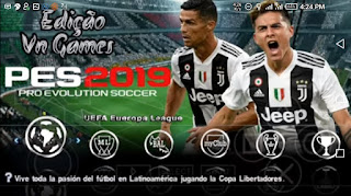 Latest Pes 2019 iso file For ppsspp download link