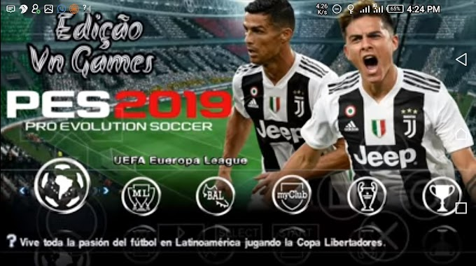 Download Latest PES 2019 Iso File For Ppsspp - Android, PC