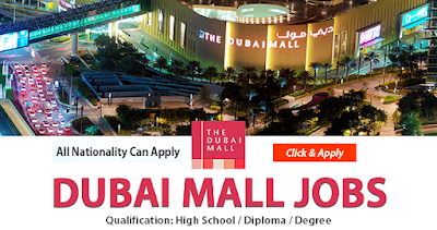 Latest Job Vacancies in Dubai Mall