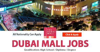 Latest Job Vacancies in Dubai Mall