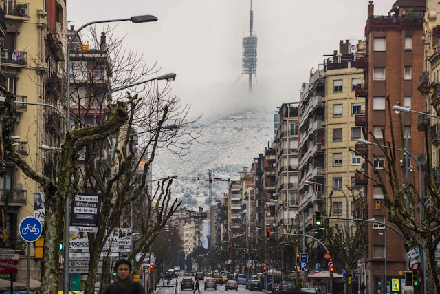 Inverno em Barcelona