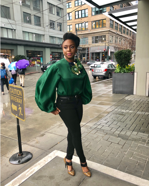 Chimamanda-Adichie-outfit-to-International-Women-Day-event-at-Amazon-Headquarters-1