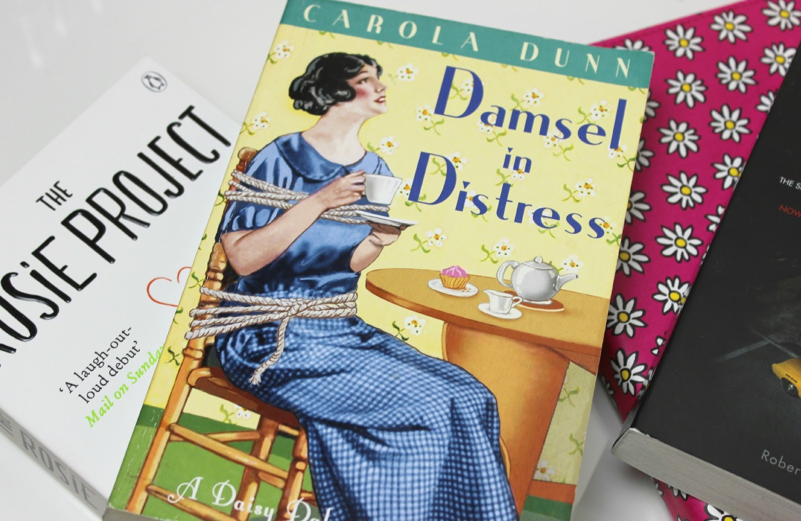 A picture of Damsel in Distress by Carola Dunn
