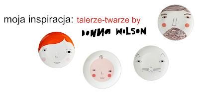 moja inspiracja: talerze-twarze by Donna Wilson