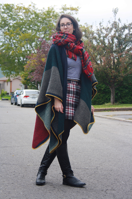 My style : Poncho