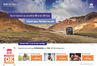 Truck Drivers turn artists with Tata Motors' 'Photo OK Please' contest