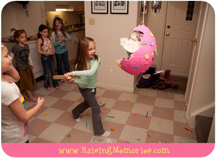 An Indoor Pinata