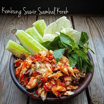 Resep Ikan Kembung suwir Sambal Korek By @endahpalupid