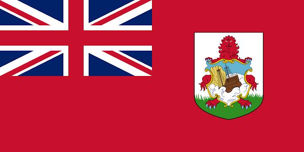 Logo Gambar Bendera Negara Bermuda PNG JPG ukuran 600 px