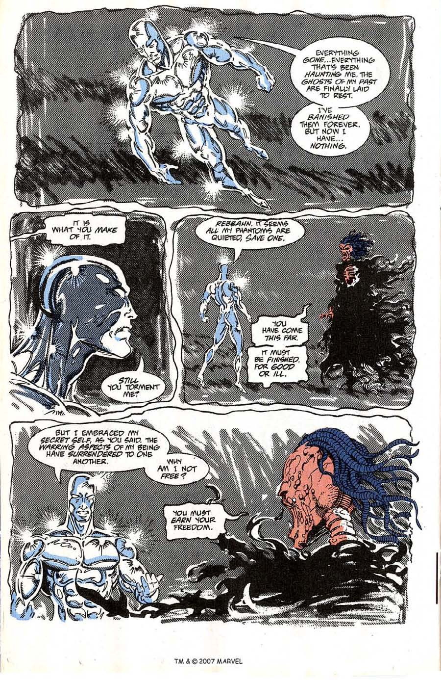 Read online Silver Surfer (1987) comic -  Issue #64 - 20