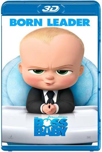 Un jefe en pañales (2017) 3D SBS Latino