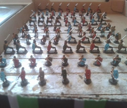 Another couple of Gallic/Celtic Warbands completed picture 2