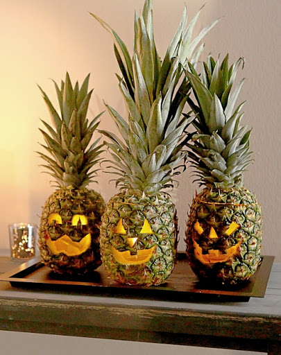 Carve a Pineapple