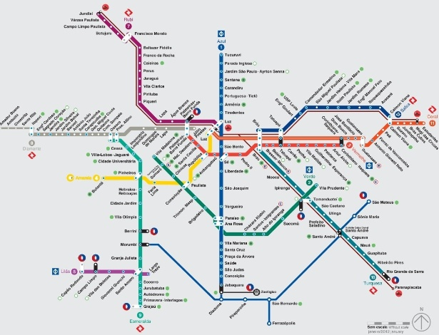 What So Paulos metro will look like in 2030 Discovering So Paulo