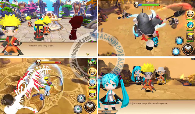 game League of Anime/Age of Anime Heroic Battle Apk v0.1.0.5 versi hack mod terbaru