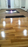 Lantai kayu parket/parquet