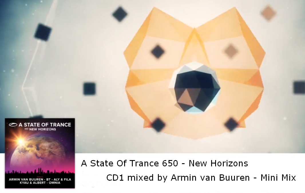Armin van Buuren : A State Of Trance 650 - New Horizons ...