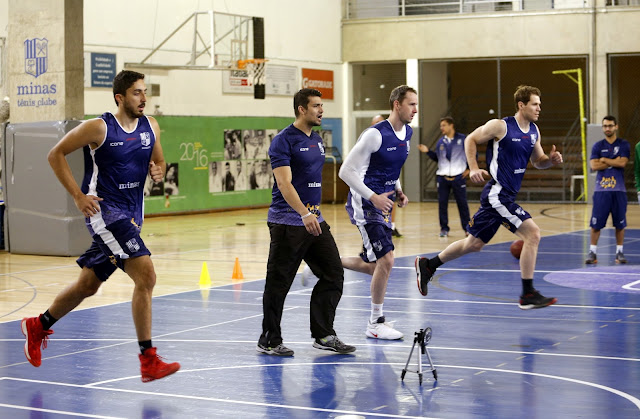 Equipe realizou treino em dois períodos no Minas I [Orlando Bento/Minas]