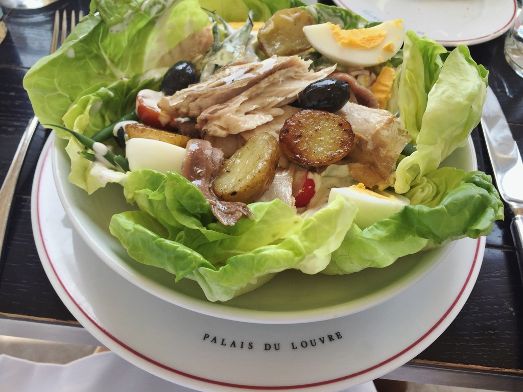 Nicoise Salad Cafe Marly