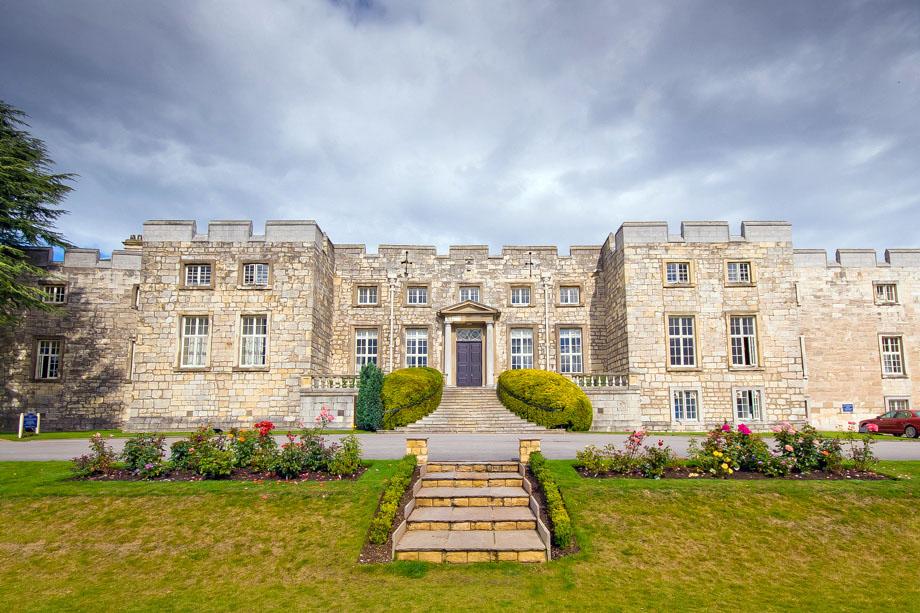 Andrew Fowler Photography Hazlewood Castle Wedding Sian