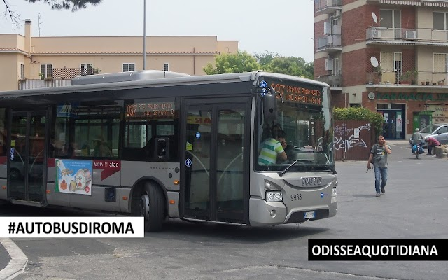 #AutobusDiRoma - Iveco Urbanway (RomaTpl); i primi Euro6 della Capitale!