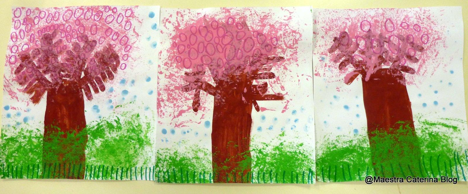 Maestra Caterina Primavera Alberi Di Pesco In Fiore